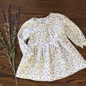 Carters Girl Fleece Floral Dress 18 month